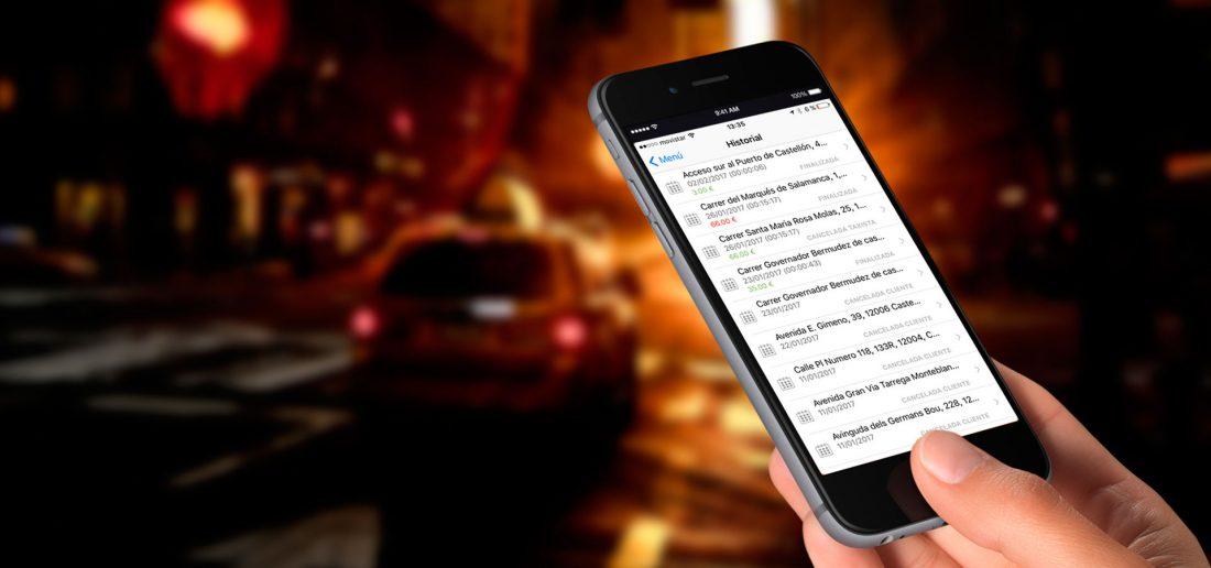 aplicacion ctaxi taxi castellon